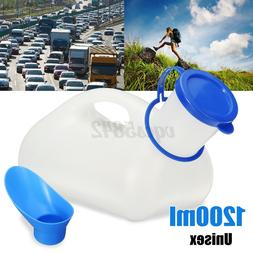 1000ML Female Male Portable Toilet Camping Travel Pee Urinal