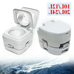 10L/12L/20L/24L Portable Toilet Flush Travel Hiking Potty Ca