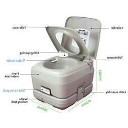 10L Portable Camping Toilet Flush Porta Travel Vehicle Boat