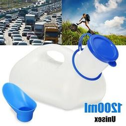 1200ml Female Male Portable Toilet Camping Car Travel Pee Ur