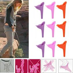 12PCS Womens Female Portable Urinal Urine Funnel Camping Tra