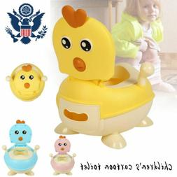 2 In 1 Potty Training Toilet Seat Baby Portable Toddler Chai