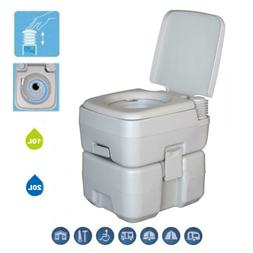 20L Garden Portable Hand Wash Sink And Flush Toilet Camping