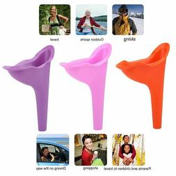 3x Portable Toilets Camping Pee Female Urinal Wee Funnel Lad