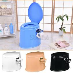4 Colors Portable Toilet Seat Travel Camping Commode Potty O