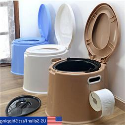 4 Colors Portable Toilet Seat Travel Camping Hiking Outdoor
