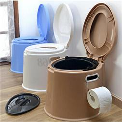 5 Color Portable Toilet Seat Travel Camping Hiking Outdoor I