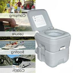 5 Gallon 20L Portable Toilet Flush Travel Camping Outdoor/In