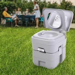 Portable Toilet Flush Travel Camping Commode Potty Outdoor/I