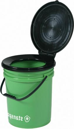 Brand New Stansport Bucket-Style Portable Toilet