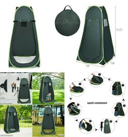 Camping Shower Tent Pop Up Toilet Changing Clothes Room Port
