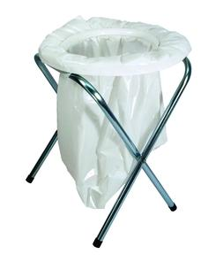 """TEXSPORT Camping Toilet, Portable, 16-1/2"""" In H x 13"""" In Dia"""