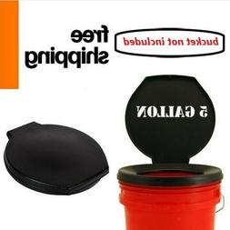 Portable Toilet Seat Lid for Camping Travel Bucket Potty Eme
