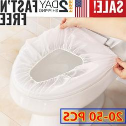 Disposable Toilet Seat Cover Mat Travel Hotel Sanitary Safe