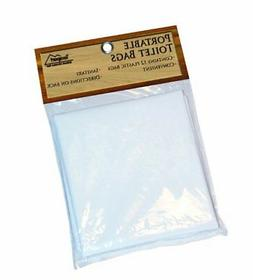 Texsport Disposable Urine, Fecal, Waste Bags for Portable To