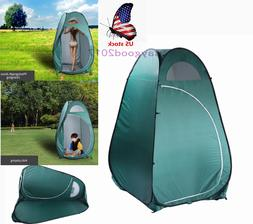 Folding Portable Outdoor Camp Toilet Large Pop Up Tent Priva