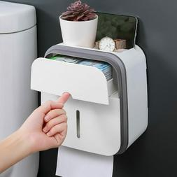 GURET Portable Toilet Paper Holder For Toilet Wall Mounted W