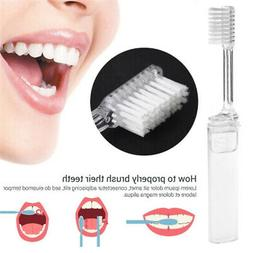 Hiking Toilet Things Tooth Brush Practical Portable Simple H
