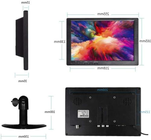 10.1 Inch Portable Monitor HDMI 1366x768 TFT with
