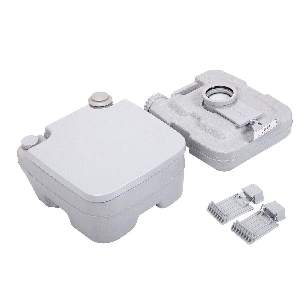 10L Portable Camping Vehicle Boat Toilet Potty