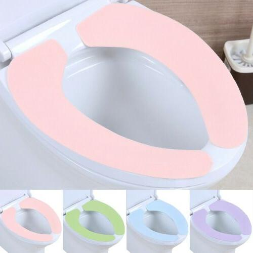 1pair toilet seat cover soft pad portable