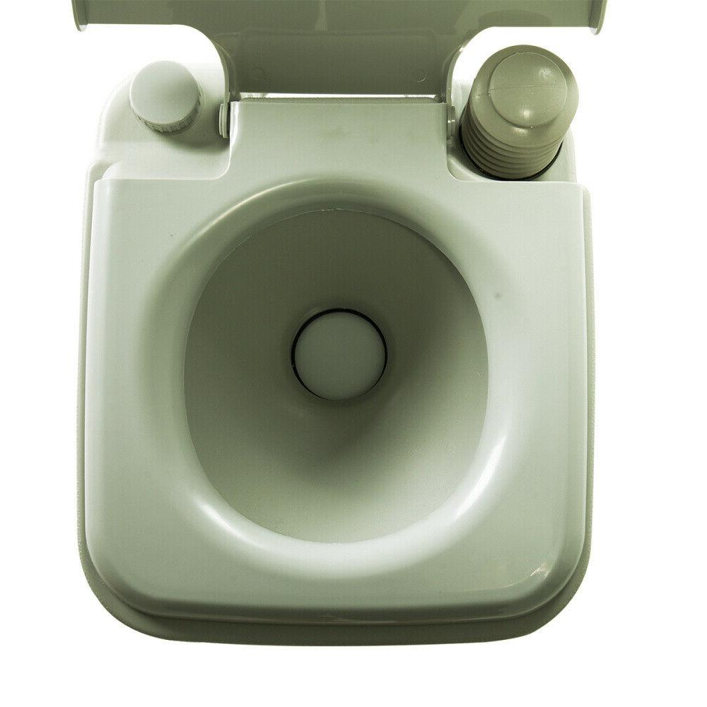 20L Toilet Camping Hiking Garden Potty Commode