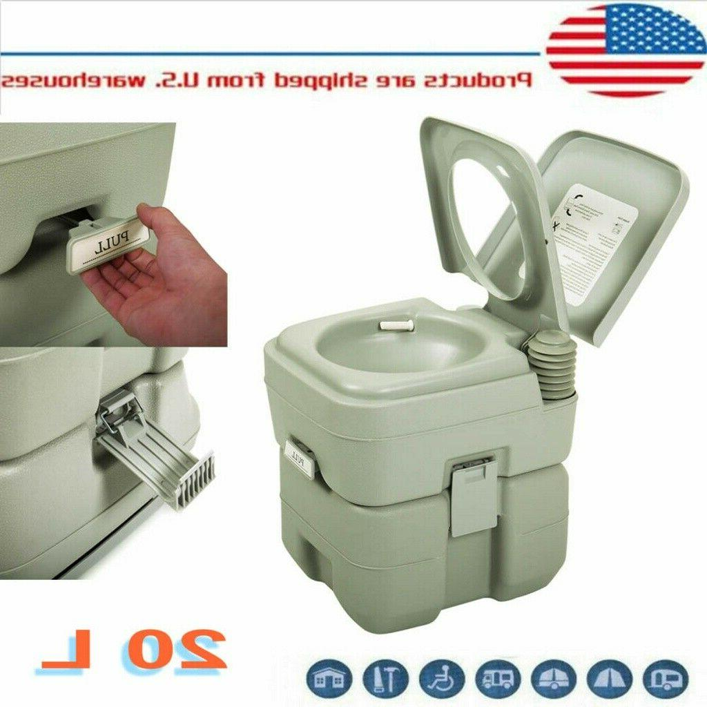 20l portable toilet outdoor indoor camping hiking
