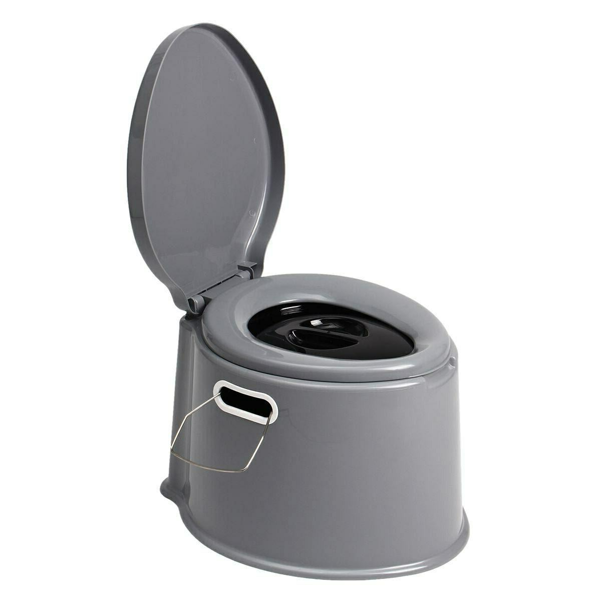 4 Portable Seat Outdoor Potty Mobile
