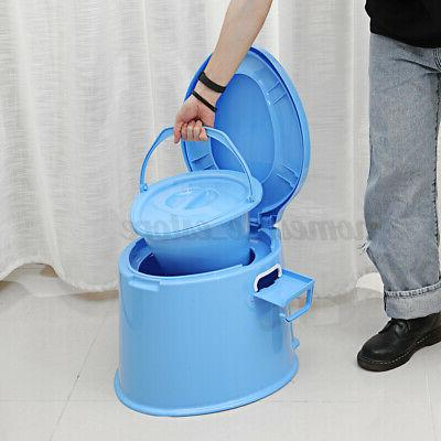 4 Colors Portable Seat Camping Potty Indoor