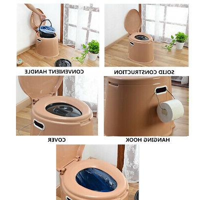 4 Seat Camping Outdoor Potty