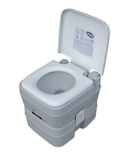 5 gallon 20l portable toilet flush travel