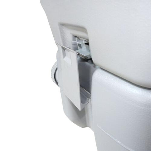 5 20L Portable Toilet Travel Outdoor/Indoor Potty Commode