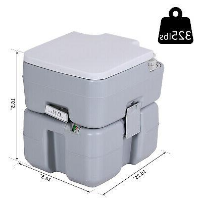 5.3 Advanced Portable Travel Pump Commode