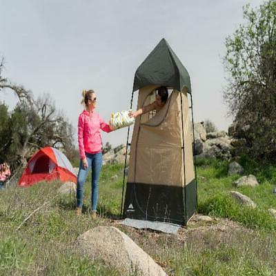 Portable Camping Lighted Toilet Shelter