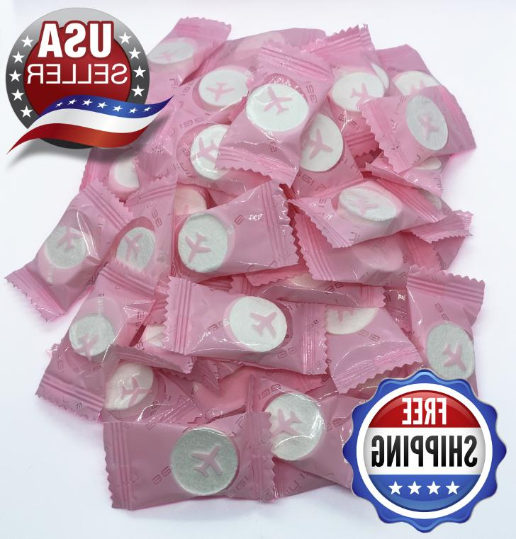 compressed toilet paper tablets individual towel wipes