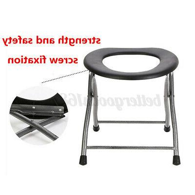 Folding Toilet Commode Camping