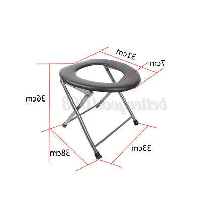 Folding Commode for Camping RV