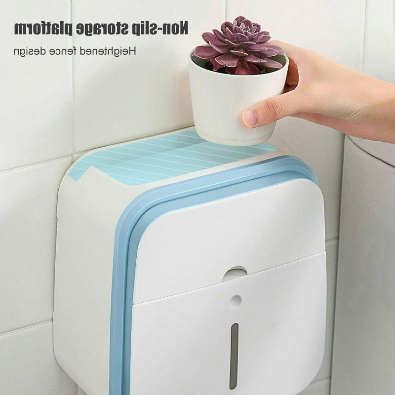 GURET Portable Paper Holder Toilet Mounted Wc Stand