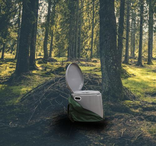 New Portable Travel Toilet and Hiking