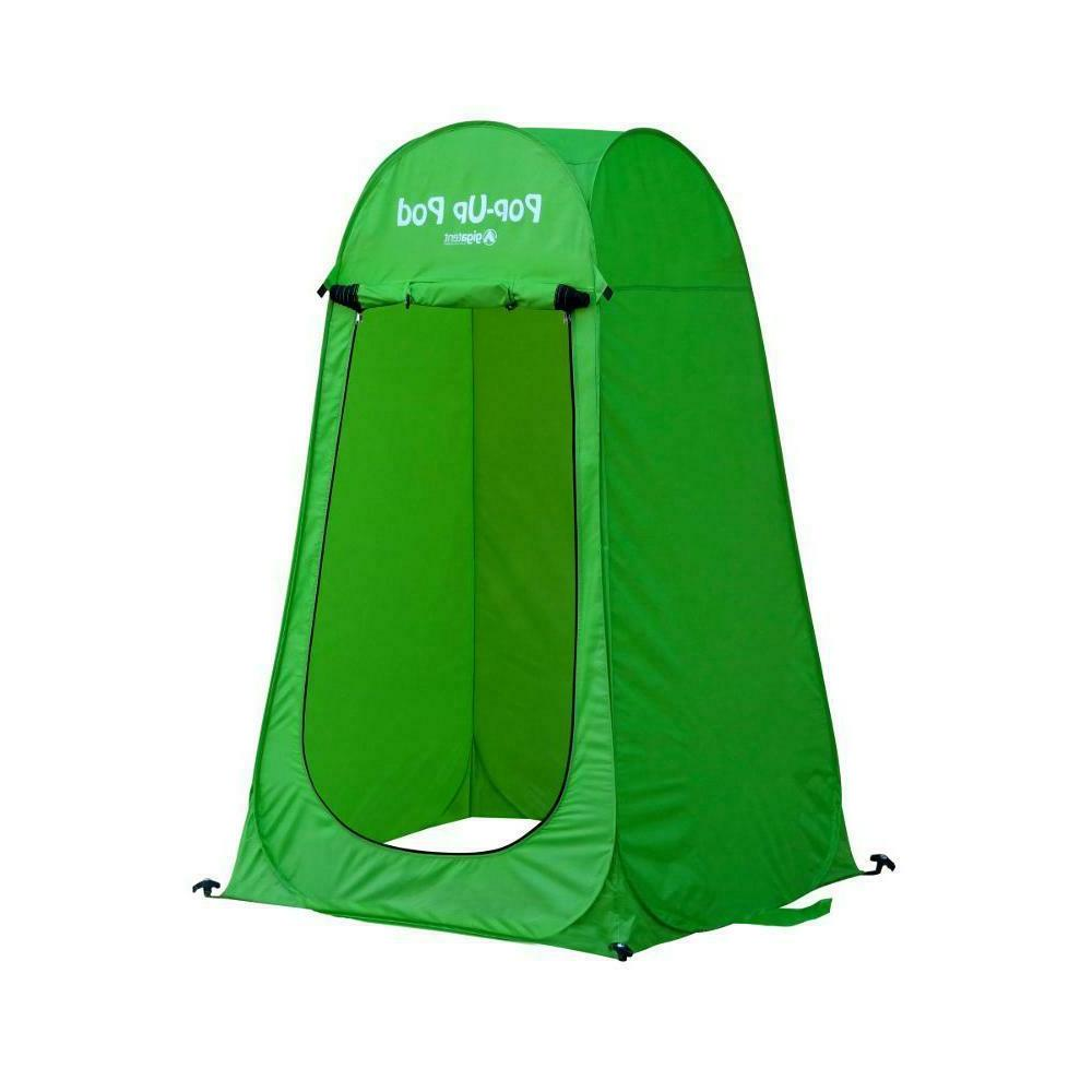 outdoor pop up tent camping shower toilet
