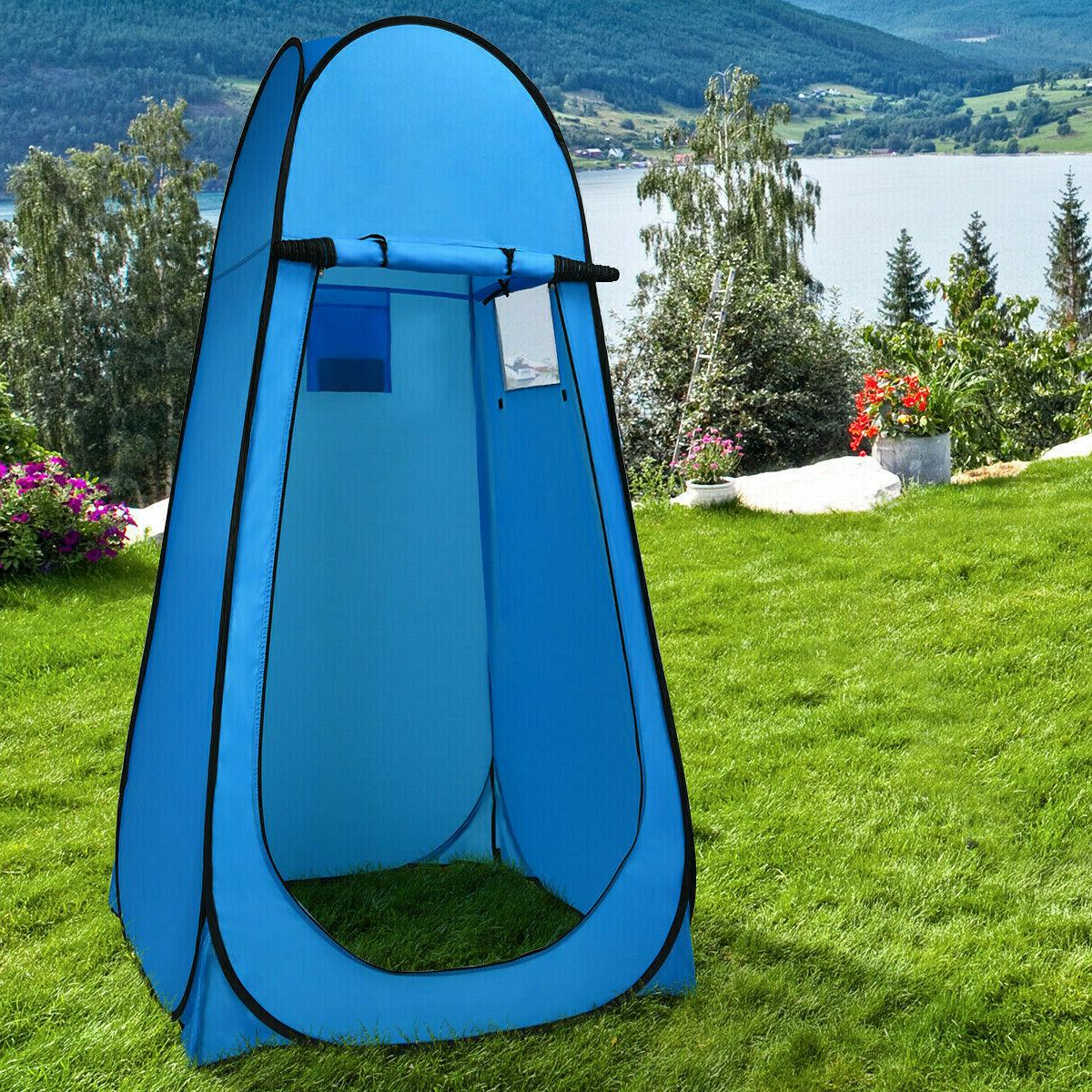 Pop Tent Portable Camping Shower