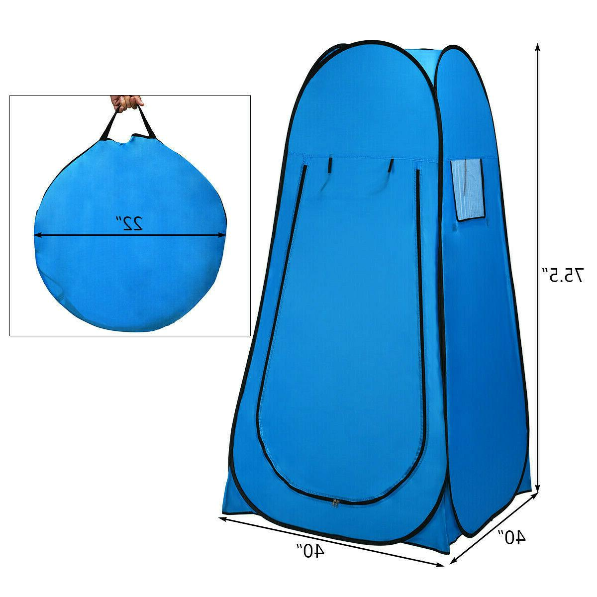 Pop Up Toilet Portable Tents Privacy Changing Outdoor