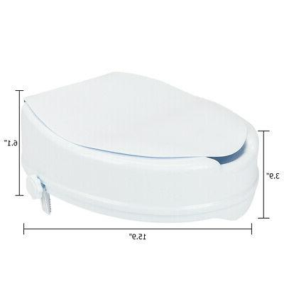 Portable Elevated Safety Toilet Seat