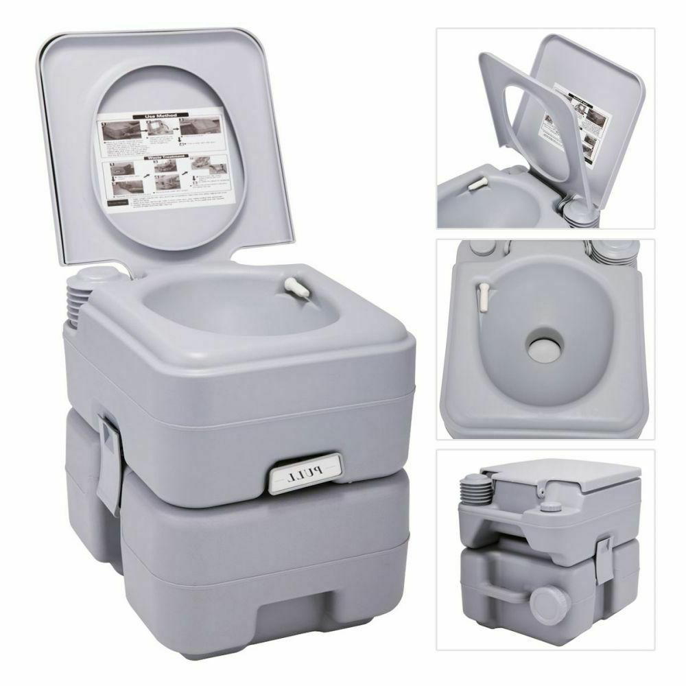 Portable Gallon 20L Travel Flush