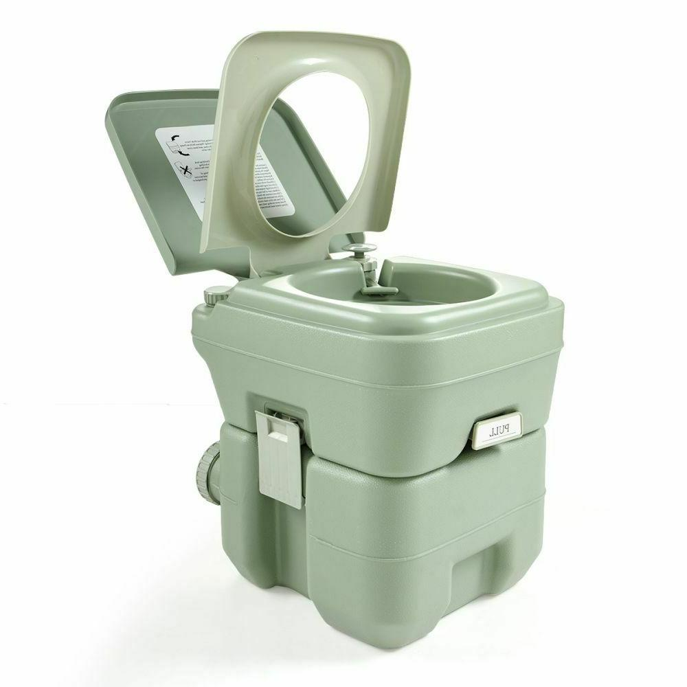 portable 5 gallon 20l travel toilet outdoor