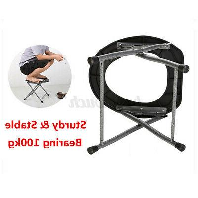 Portable Folding Toilet Commode for Camping RV