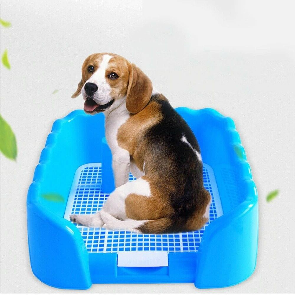Portable Pet Grid Toilet Dog Toilet Puppy Training Pad