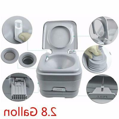 Portable Toilet 2.8 10L Outdoor Hygiene Hiking