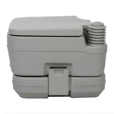 Portable Toilet 2.8Gallon Outdoor Camping Hygiene Hiking Accessories