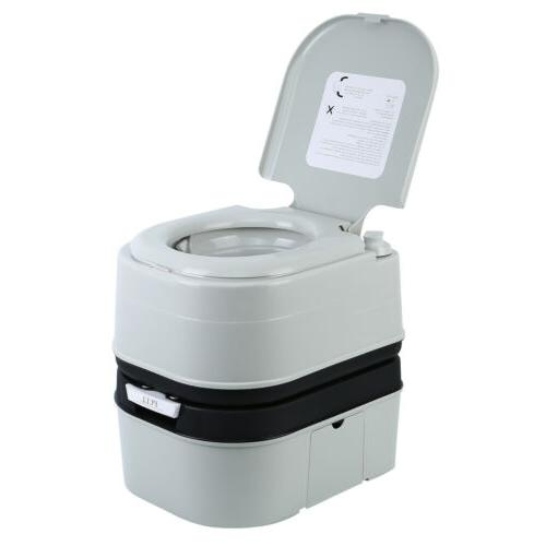 20L Portable Toilet Flush Travel Camping Outdoor/Indoor Comm